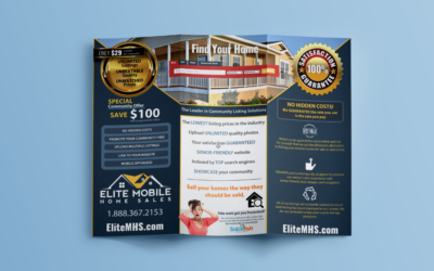 Elite Mobile Home Sales Brochure