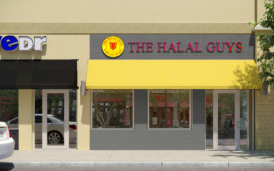 The Halal Guys® Concept Rendering