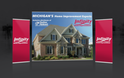 Infinity Home Improvements Trade show display